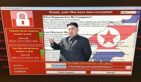 H Β. Κορέα πίσω από το WannaCry Ransomware;
