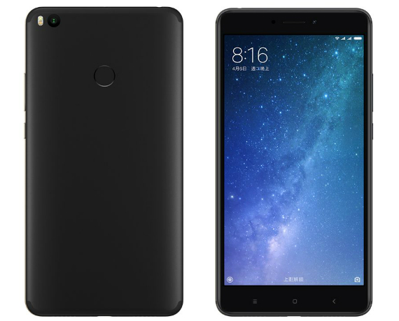 Xiaomi Mi Max 2 Matte Black