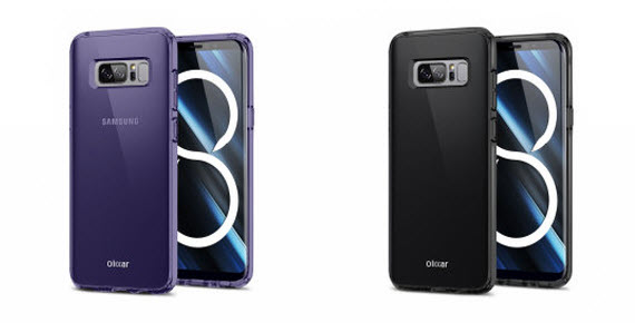 galaxy note 8 olixar-cases