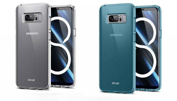 galaxy note 8 olixar cases