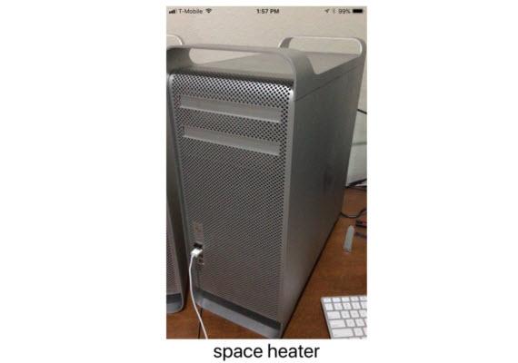 mac pro heater