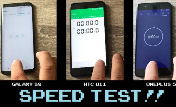 op5 s8 htc u11 speed test