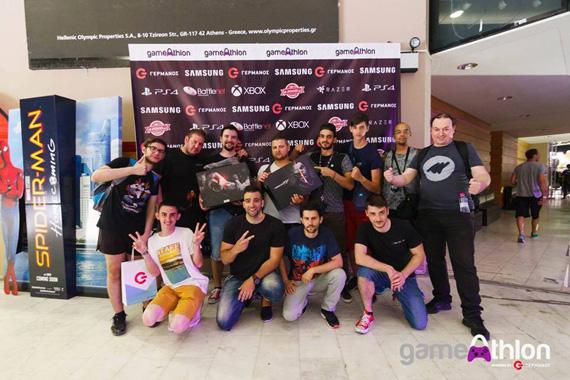 Germanos GameAthlon 2017 winners
