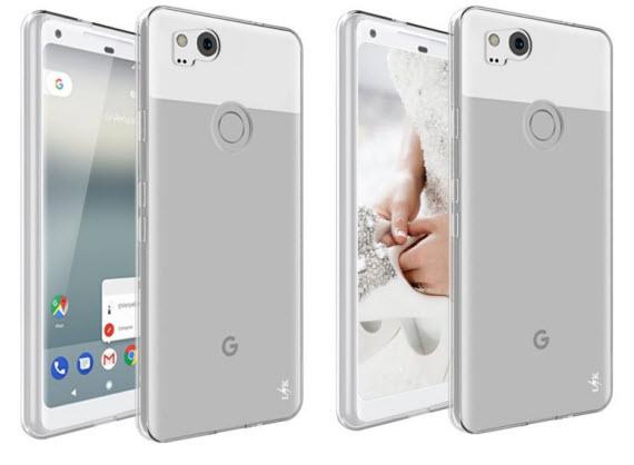 google pixel 2 case 1 render