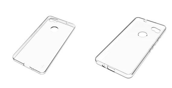 google pixel-2 case render
