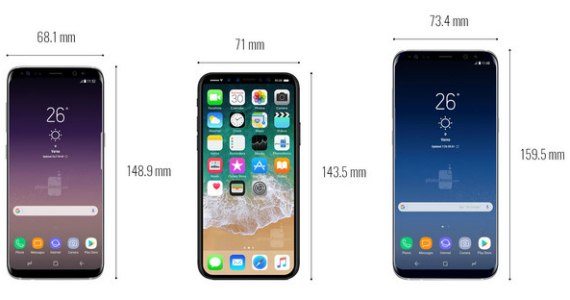 iphone 8 vs galaxy s8 vs galaxy s8