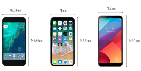 iphone 8 vs google pixel vs lg g6