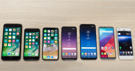 iphone 8 vs iphone 7 vs galaxy s8 vs lg g6 vs pixel