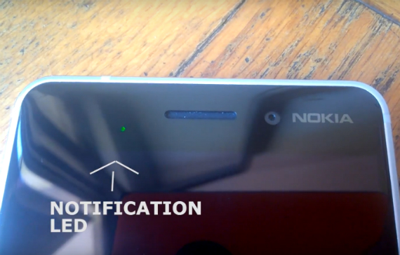 nokia 6 notification led