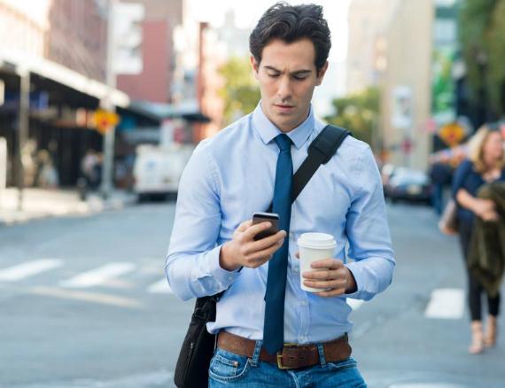 smartphone crosswalk