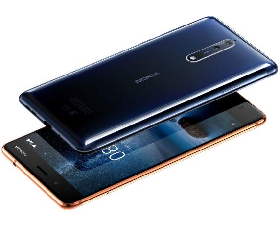 Nokia 8: Νέα έκδοση με 6GB RAM, χωρητικότητα 128GB & τιμή 649 ευρώ