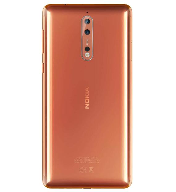 Nokia 8 official