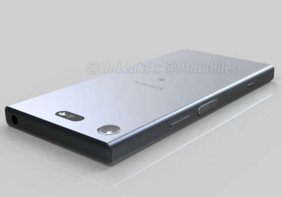Sony Xperia XZ1 Compact renders