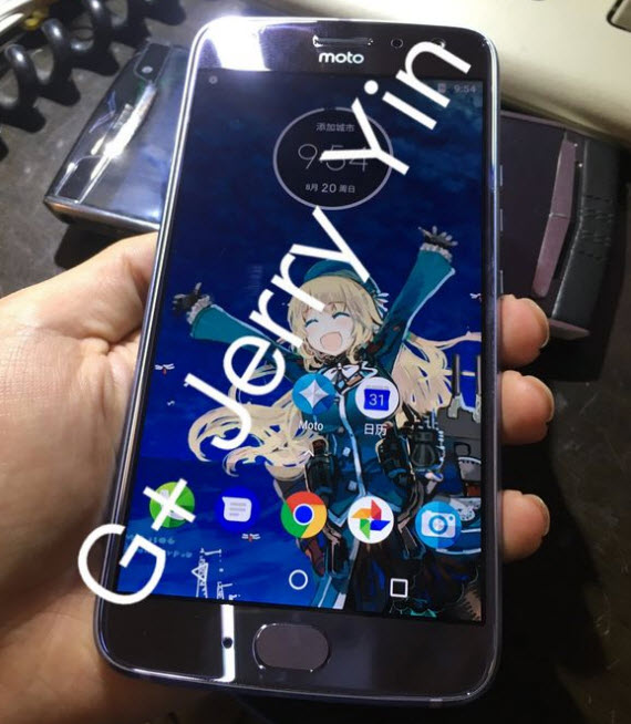 moto x4 real life pic front