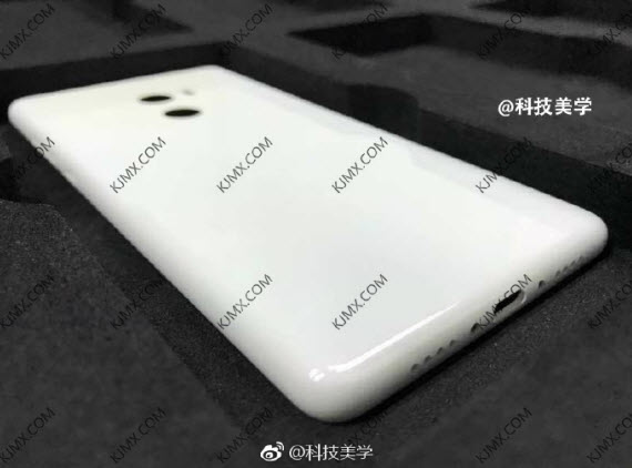 xiaomi mi mix 2 rear leak