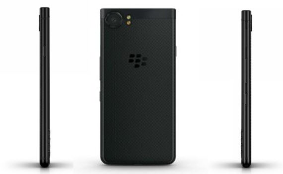 BlackBerry KEYone Black Edition sides