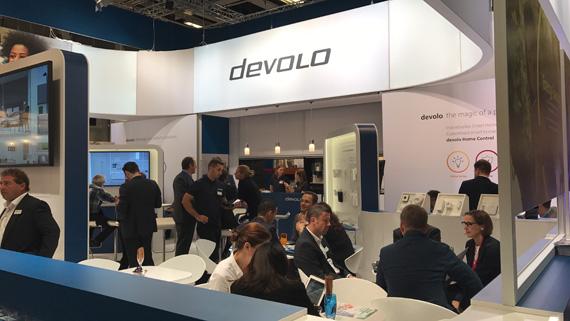 Devolo booth IFA 2107