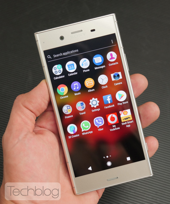 Sony Xperia XZ1 hands-on Techblog