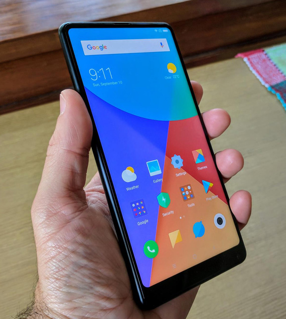 Xiaomi Mi Mix 2 hands-on