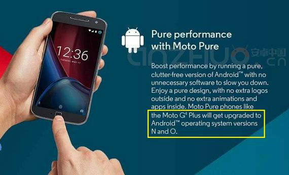 moto g4 plus androidO