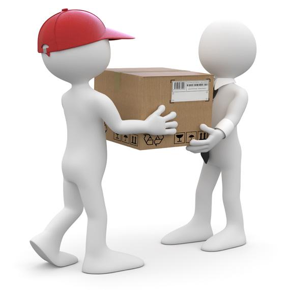 order delivery parcel