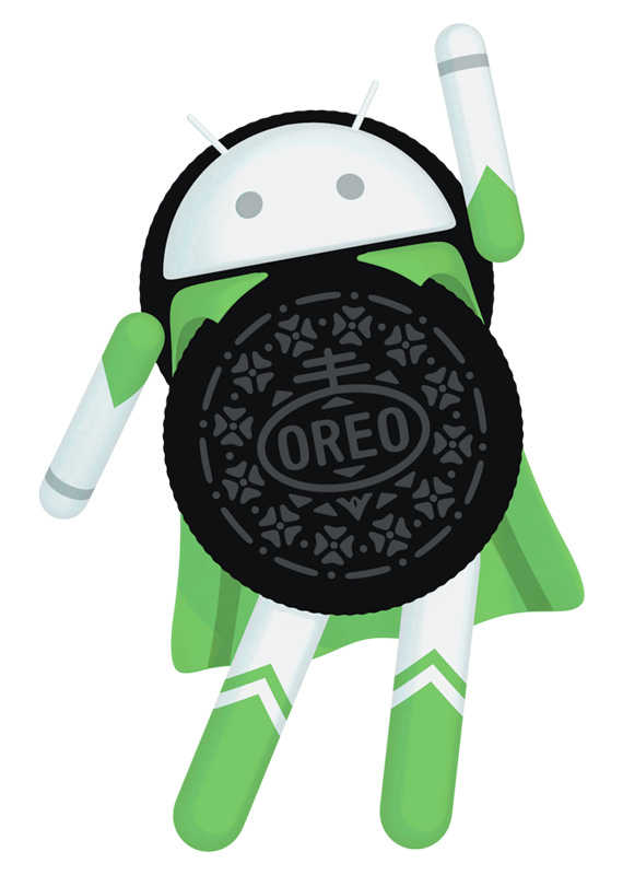 Android Oreo hero logo