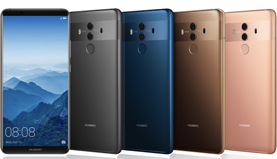 Huawei Mate 10 Pro revealed