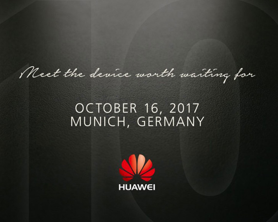 Huawei Mate 10 munich invitation