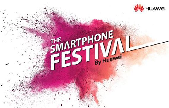 Huawei smartphone festival