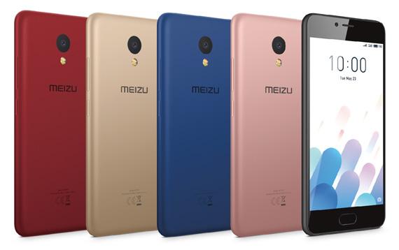 Meizu M5c colours