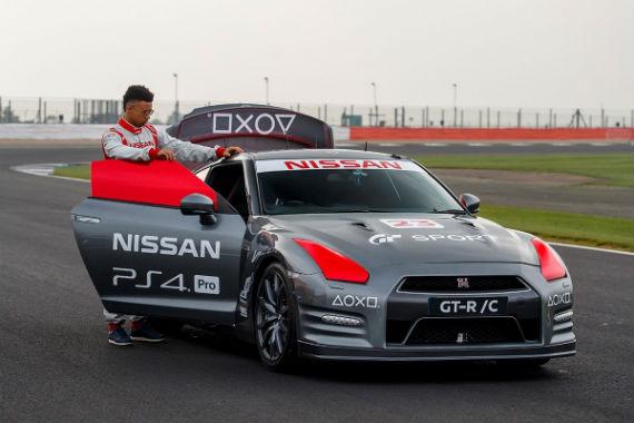Nissan GT-R PlayStation