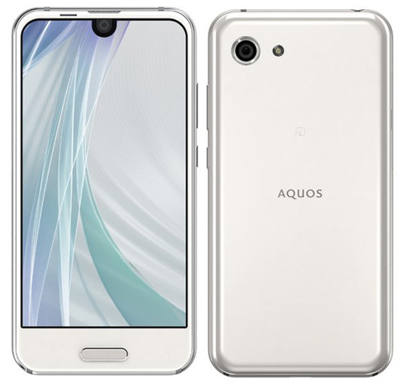 SHARP AQUOS R Compact white