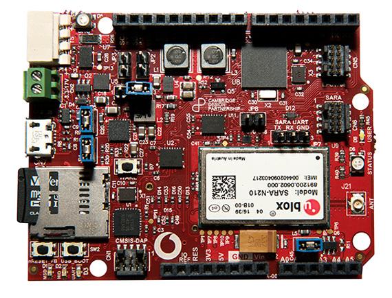 Vodafone iot chip content