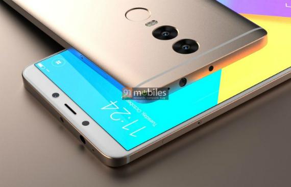 Xiaomi Redmi Note 5 renders
