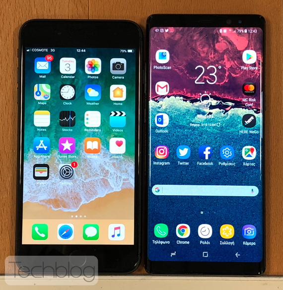 iPhone 8 Plus or Galaxy Note 8