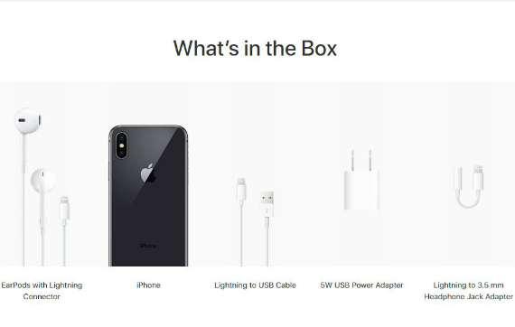iphone x box