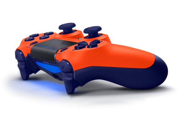 Πορτοκαλί Dualshock 4