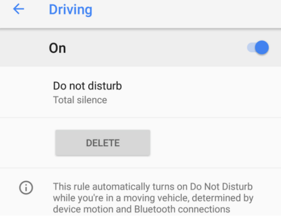 pixel 2 do not disturb