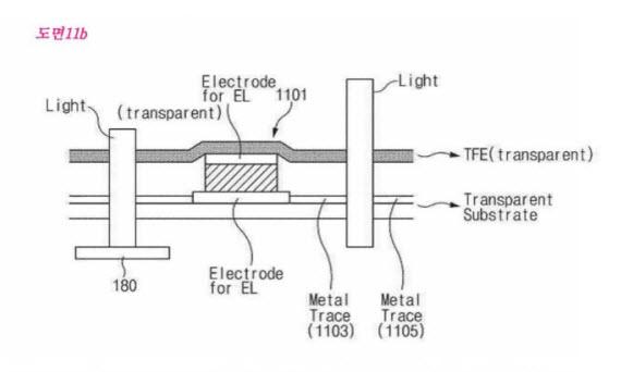 samsung fingerprint scanner-patent