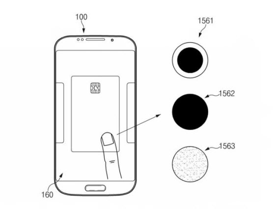 samsung fingerprint-scanner patent