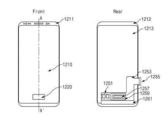 samsung-fingerprint scanner patent