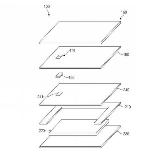 samsung fingerprint scanner patent