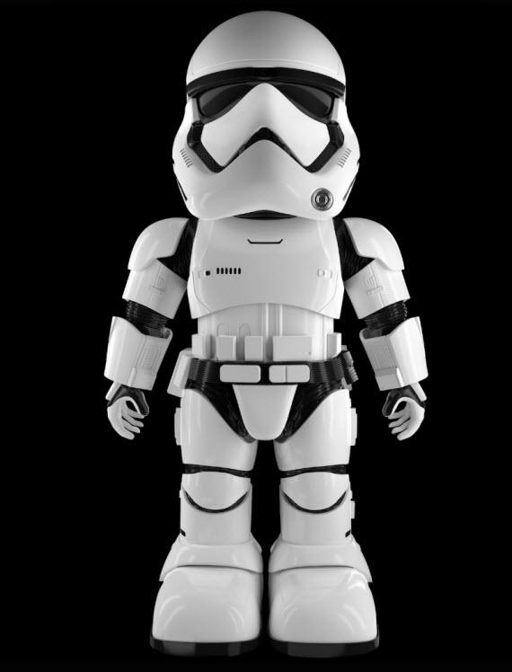 Stormtrooper ρομπότ με αναγνώριση προσώπου σας προστατεύει από εισβολείς