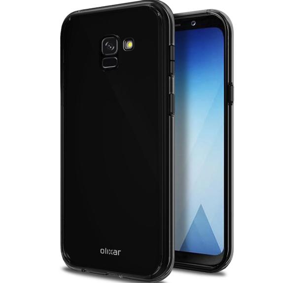 Galaxy A5 (2018) render