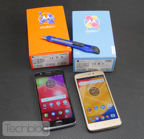 Moto C Plus and Moto E4 Techblog