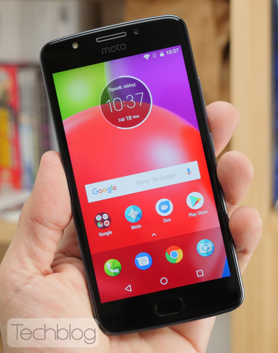 Motorola Moto E4 hands-on Techblog