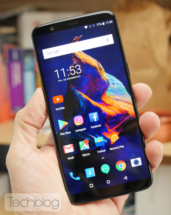 OnePlus 5T hands-on Techblog