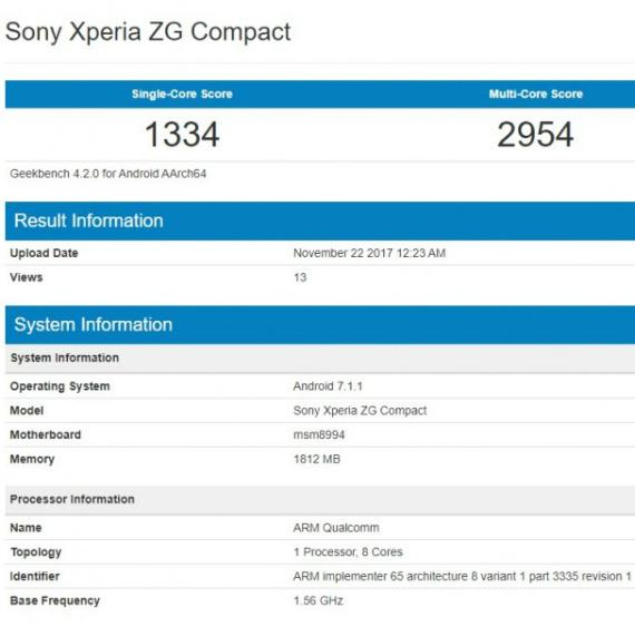 Sony Xperia ZG Compact