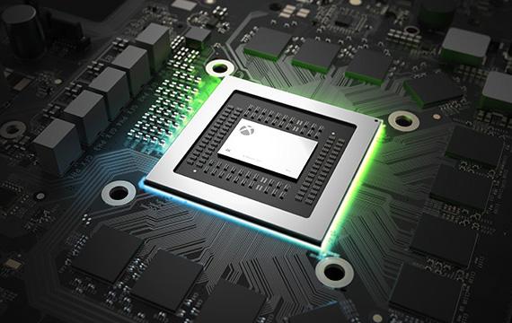 XBOX One X CPU