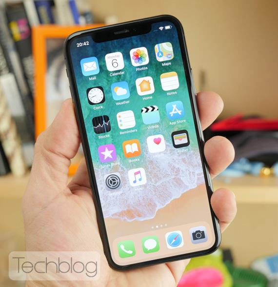 iPhone X hands-on Techblog